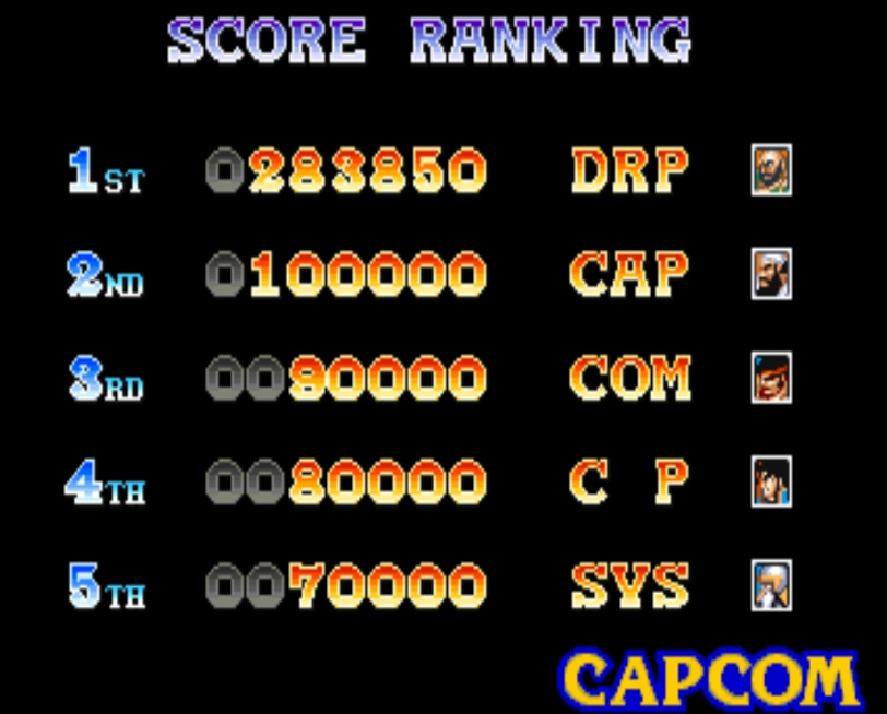 Scootablue: Warriors of Fate [wof] (Arcade Emulated / M.A.M.E.) 283,850 points on 2014-09-17 15:10:48