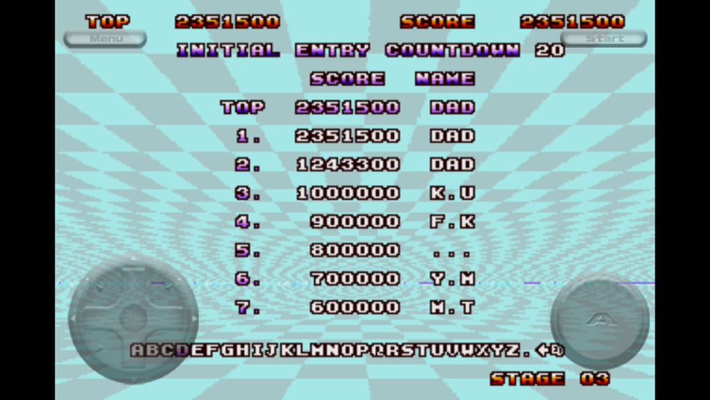Congslop: Space Harrier II (iOS) 2,351,500 points on 2014-09-17 18:35:18
