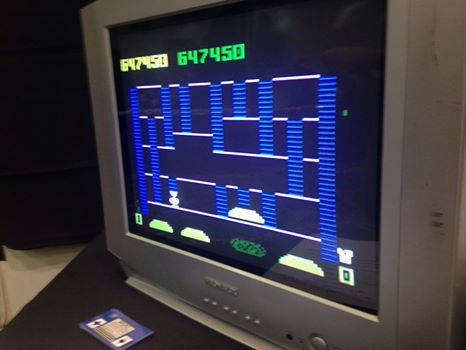 gavv: BurgerTime (Intellivision) 647,450 points on 2014-09-17 22:13:09