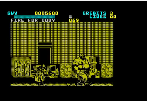 mechafatnick: Final Fight (ZX Spectrum Emulated) 5,600 points on 2014-09-17 23:44:08