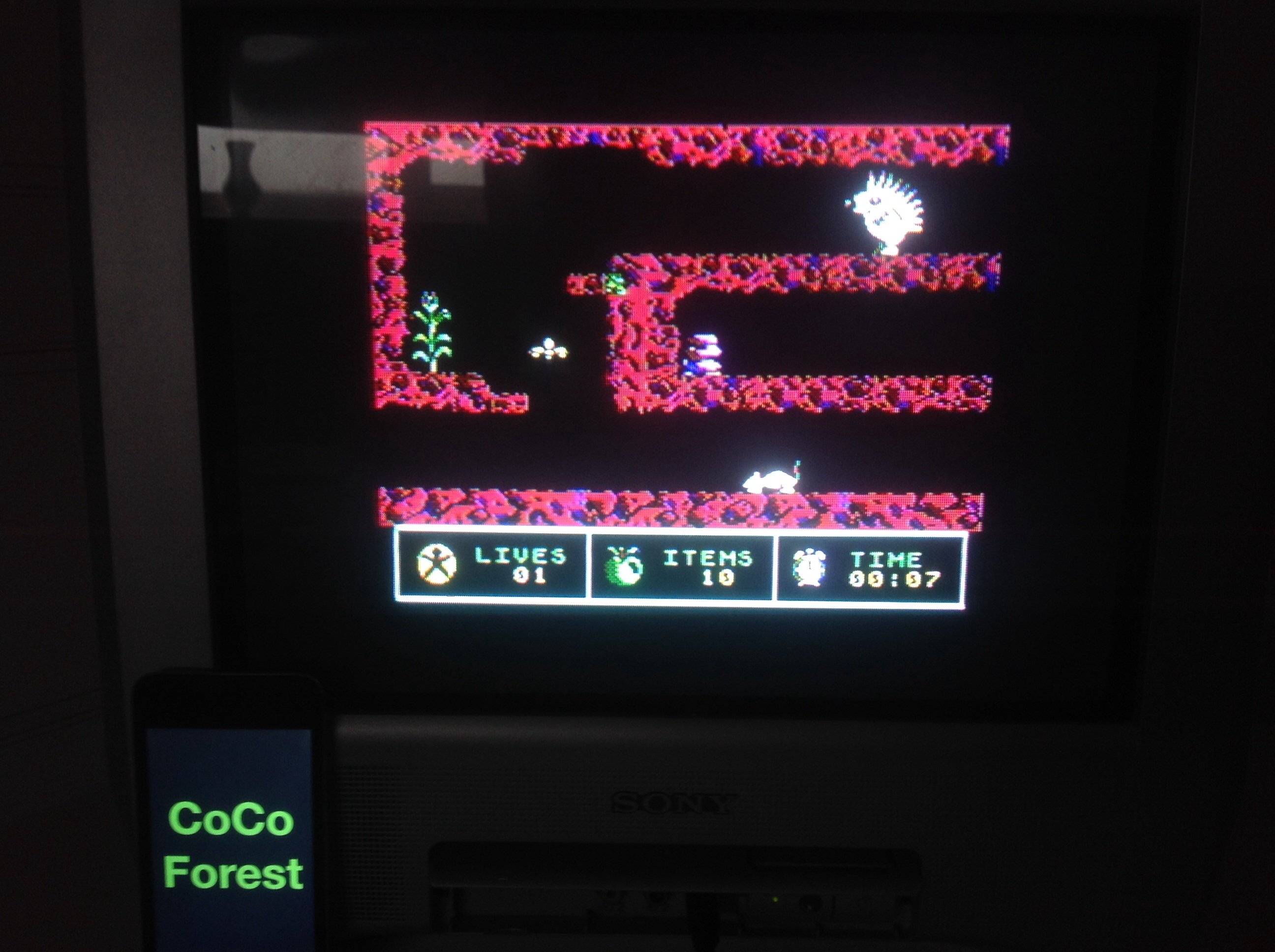 CoCoForest: Spiky Harold (Commodore 64) 10 points on 2014-09-18 02:56:21