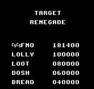 mechafatnick: Target Renegade (ZX Spectrum Emulated) 181,400 points on 2014-09-18 07:05:57