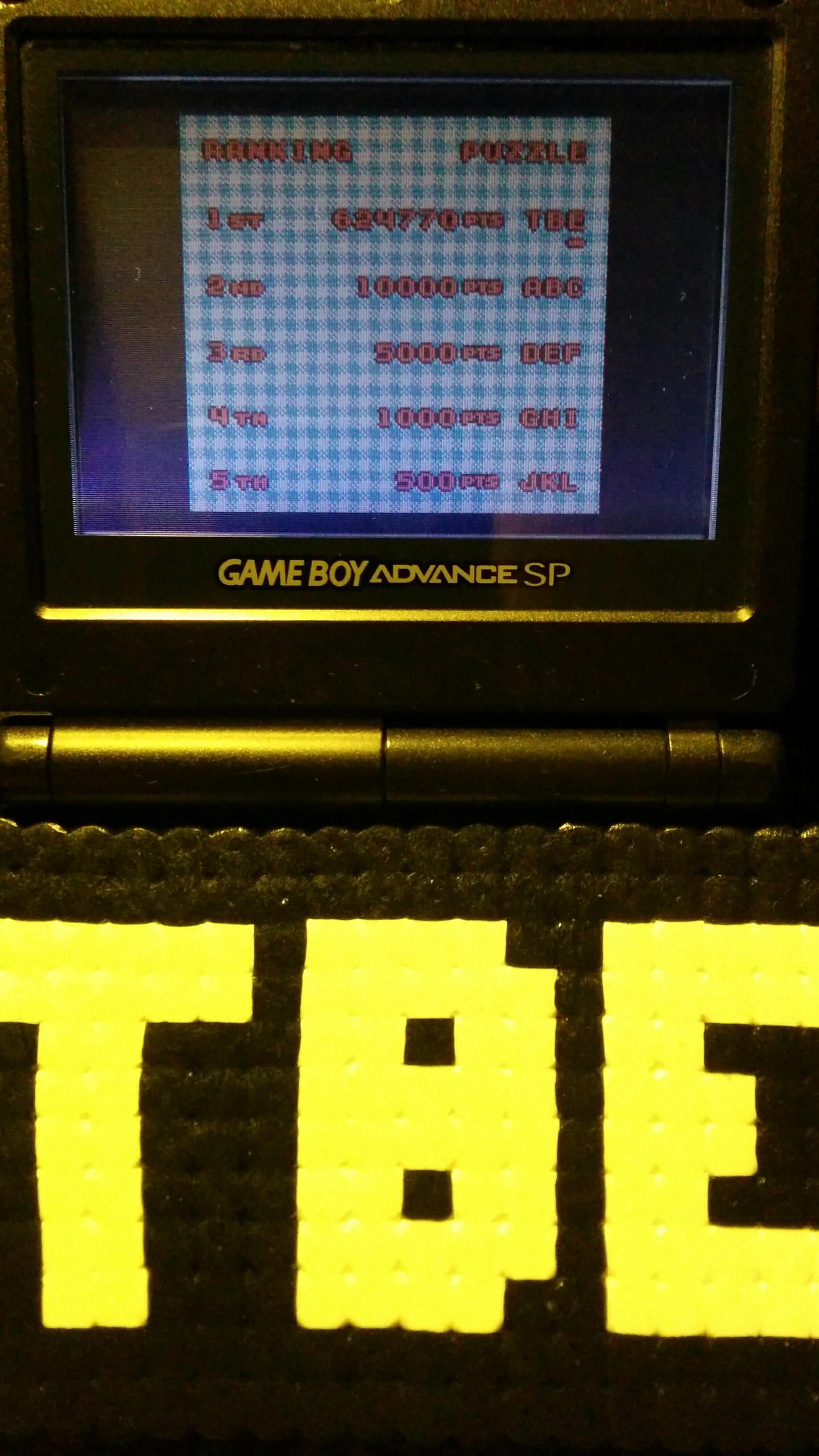 Sixx: Bust-A-Move 4: Puzzle: Normal (Game Boy Color) 624,770 points on 2014-09-18 13:37:16