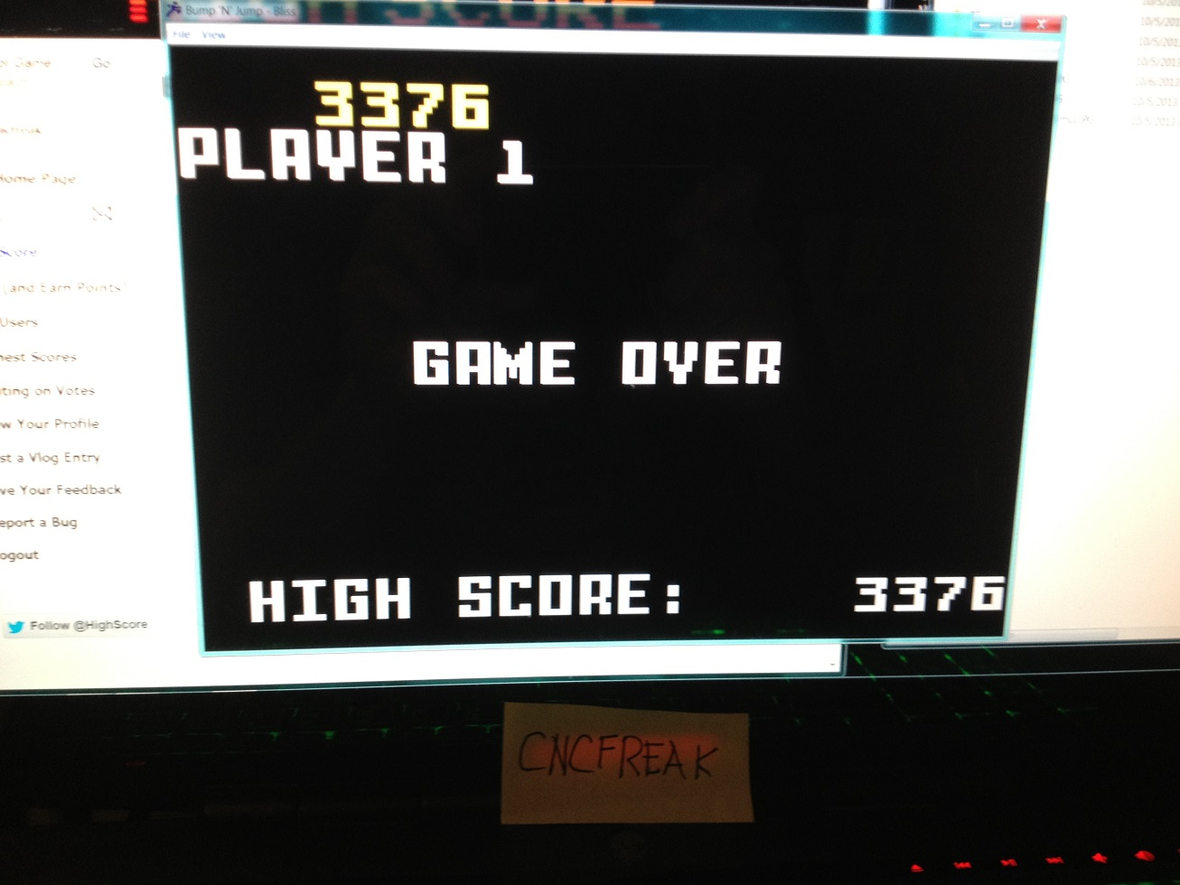 Bump N Jump 3,376 points