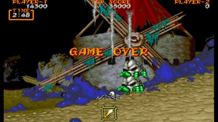 Ghouls N Ghosts [ghouls] 14,300 points