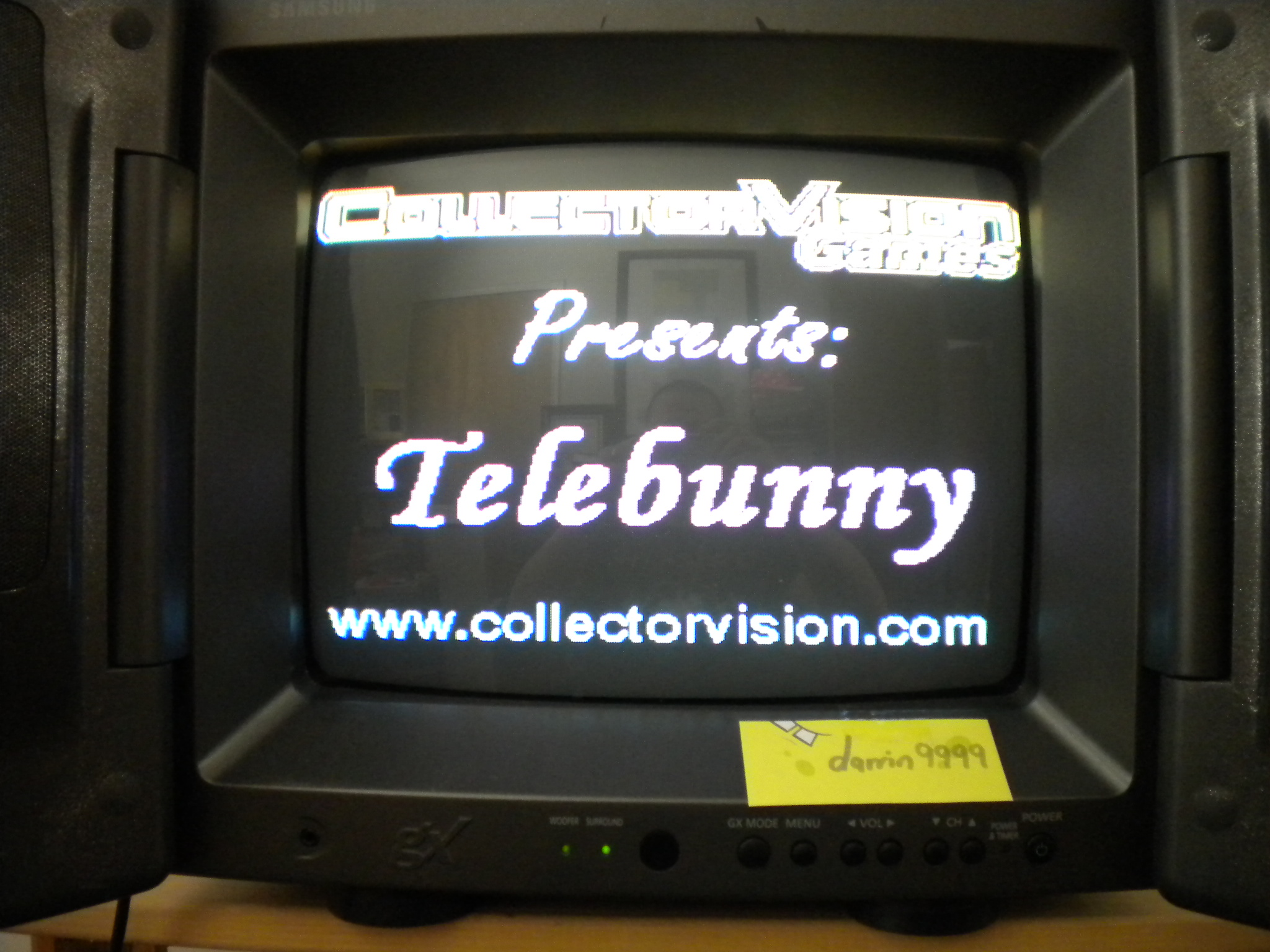 Telebunny [Normal Play] 4,920 points