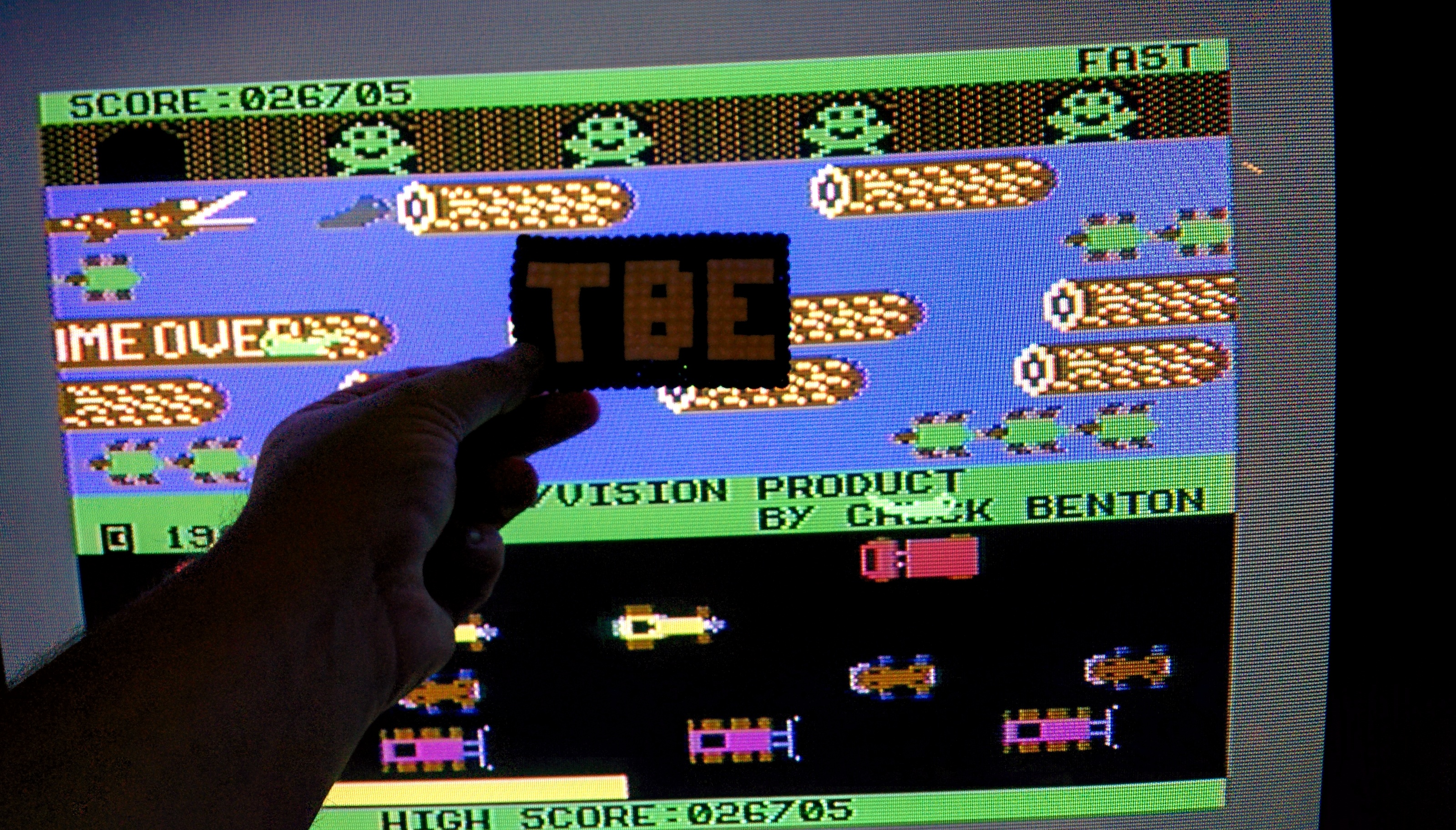 Sixx: Frogger: Sierra (Commodore 64) 26,705 points on 2014-09-20 18:46:06