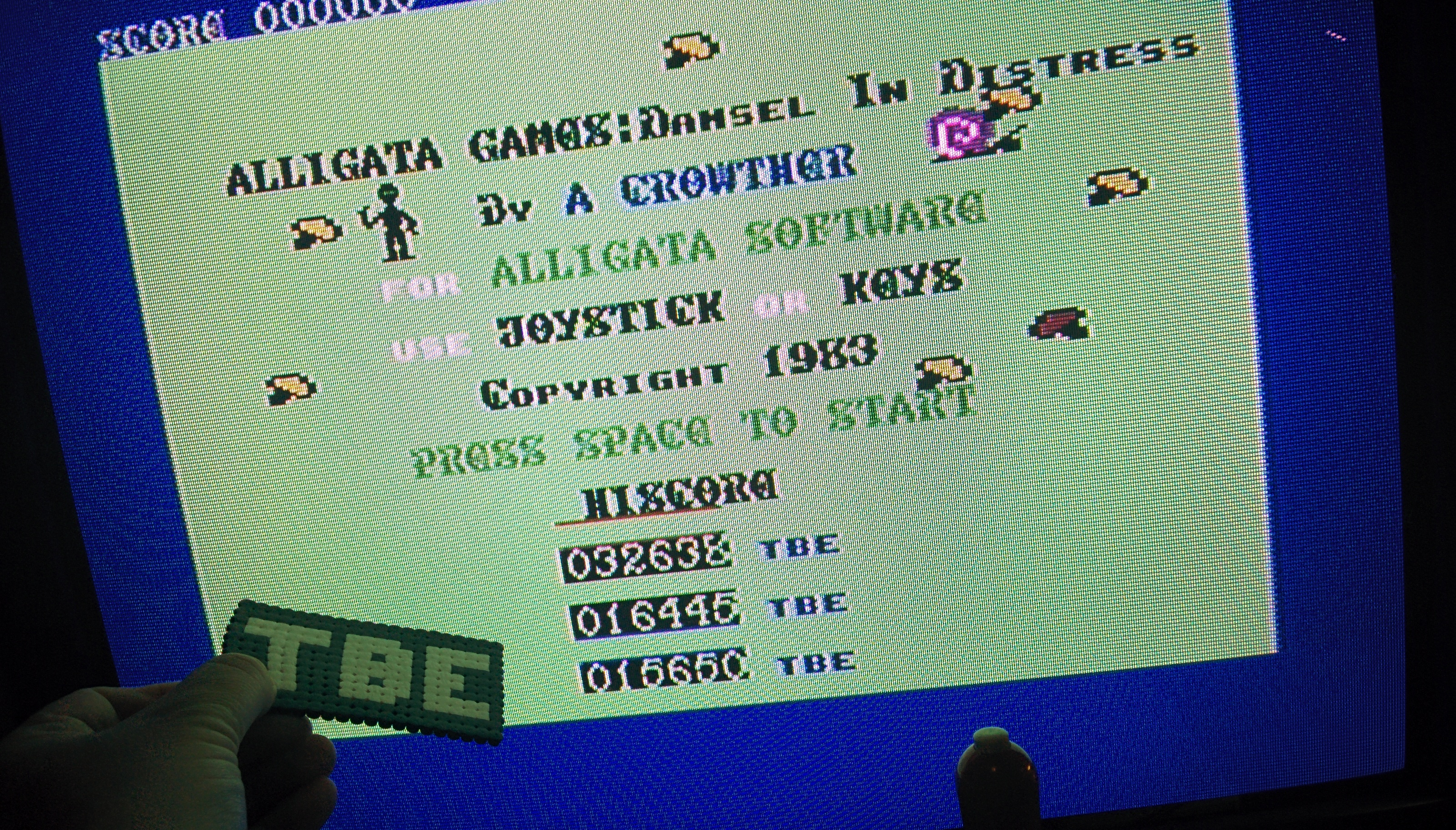 Sixx: Bug Blaster (Commodore 64) 32,638 points on 2014-09-21 15:26:30