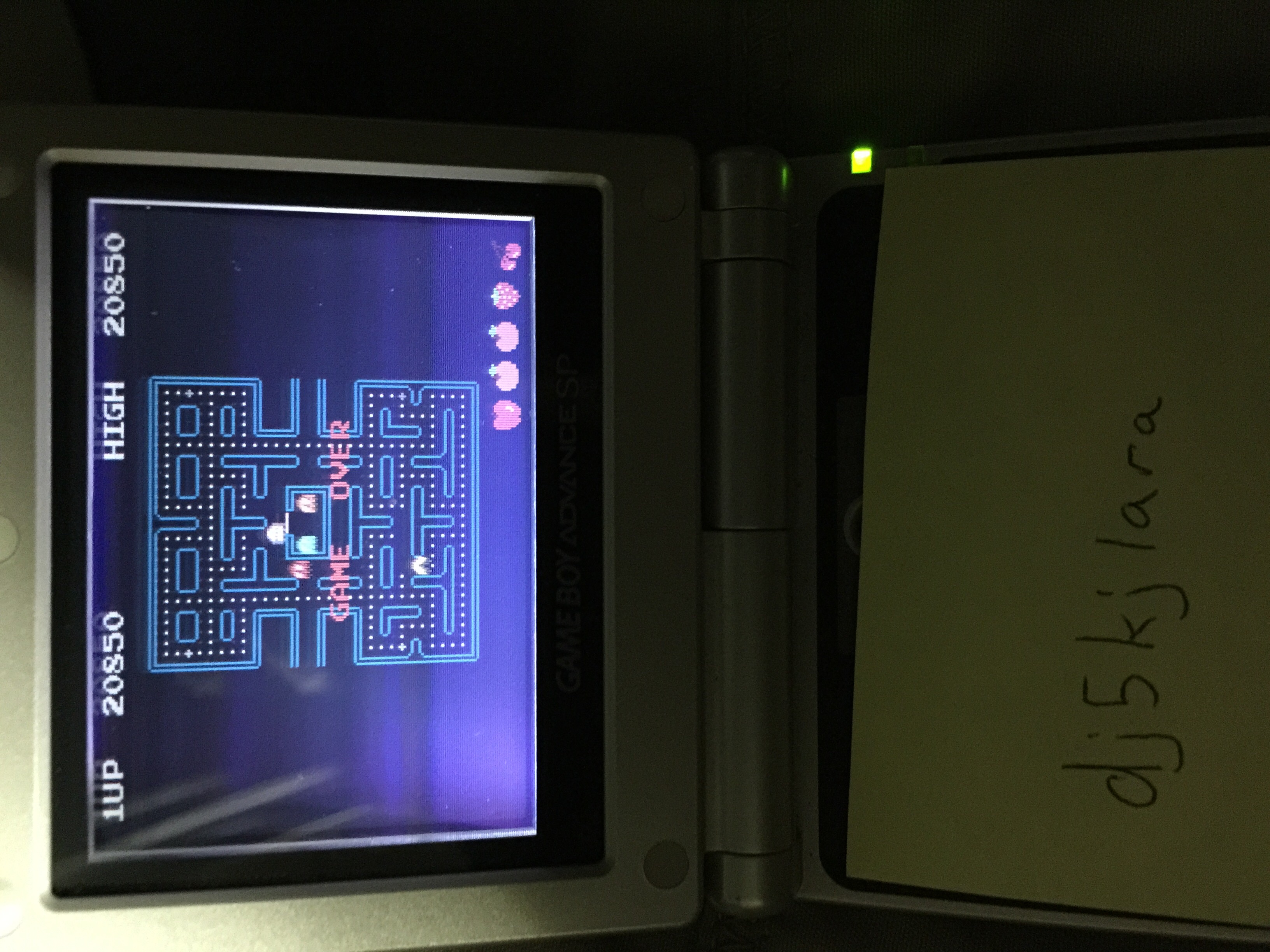 Pac-Man Collection: Pac-Man 20,850 points
