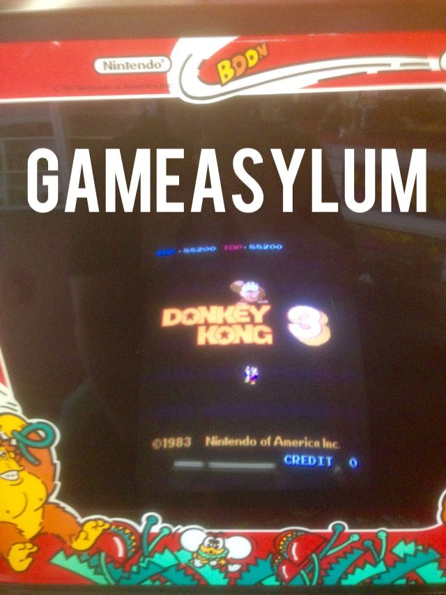 GameAsylum: Donkey Kong 3 (Arcade) 88,200 points on 2014-09-24 19:08:40
