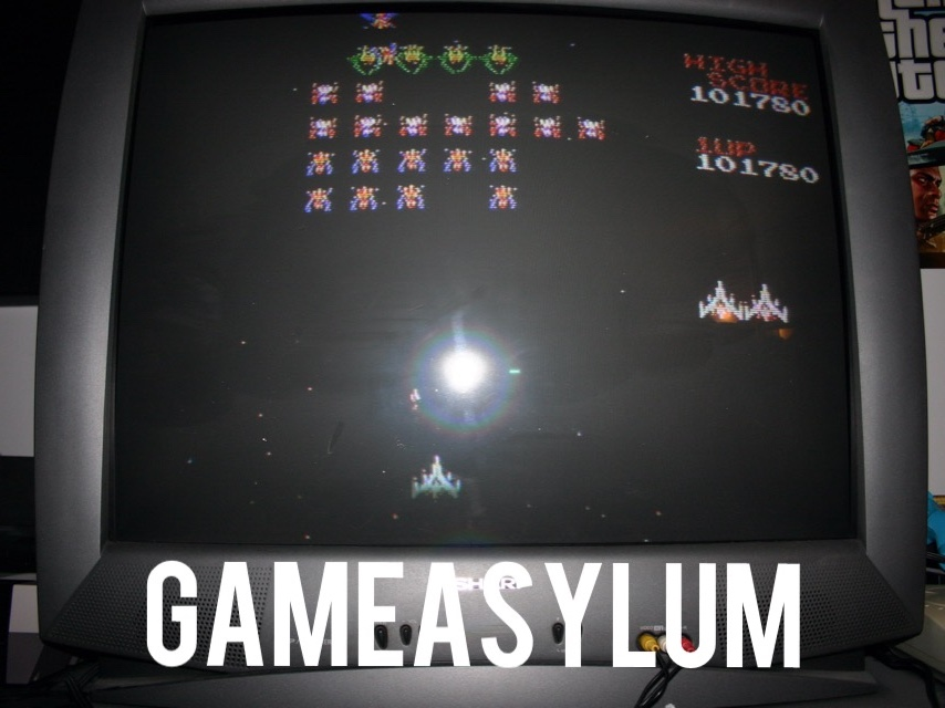 GameAsylum: Galaga (NES/Famicom) 101,780 points on 2014-09-25 00:36:46
