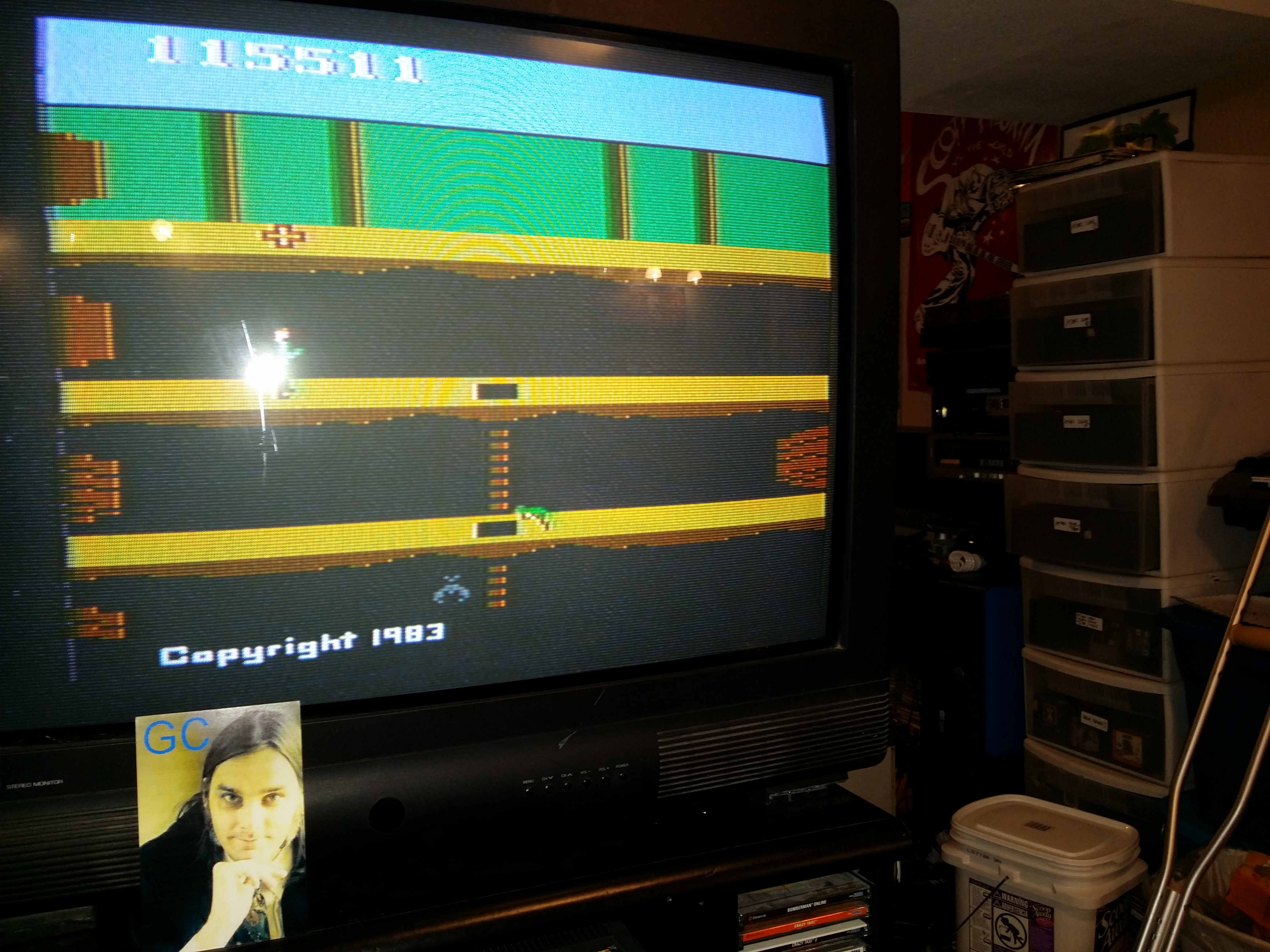 glenncase: Pitfall II: Lost Caverns (Atari 2600) 115,511 points on 2014-09-25 08:06:32