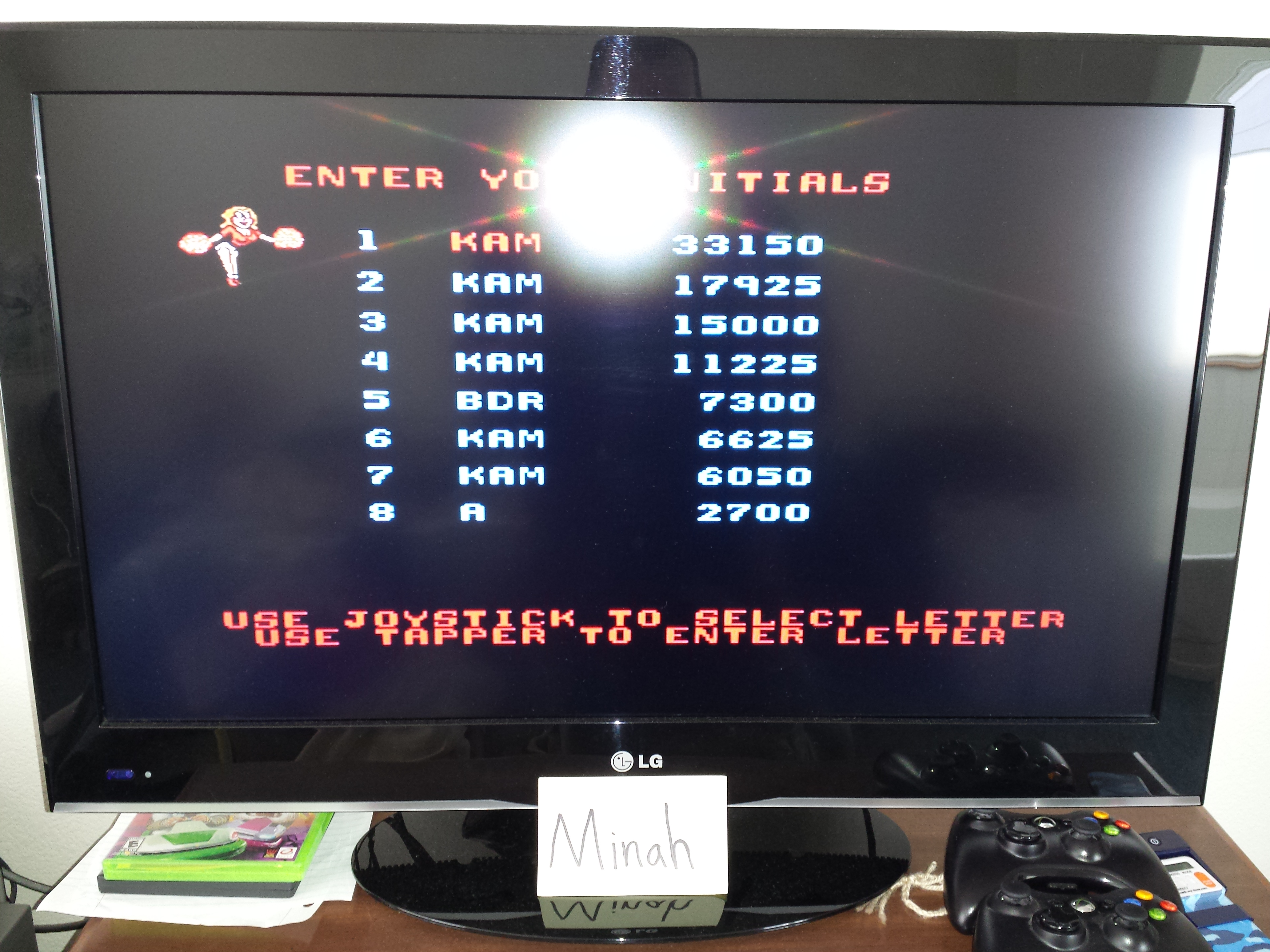 Midway Arcade Treasures: Root Beer Tapper 33,150 points