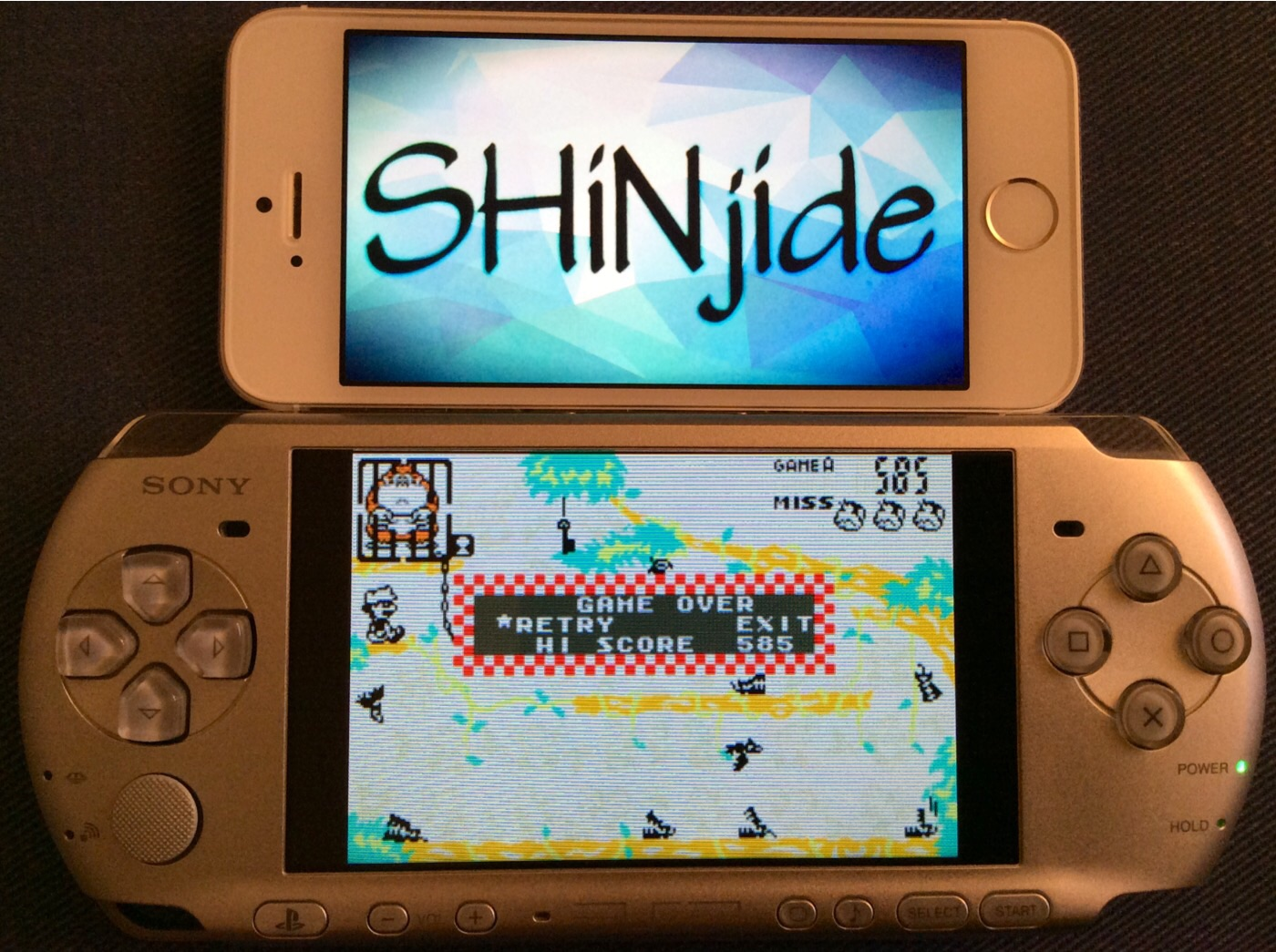 SHiNjide: Game & Watch Gallery 4: Donkey Kong Jr. [Classic: Easy] (GBA Emulated) 585 points on 2014-09-26 11:23:39