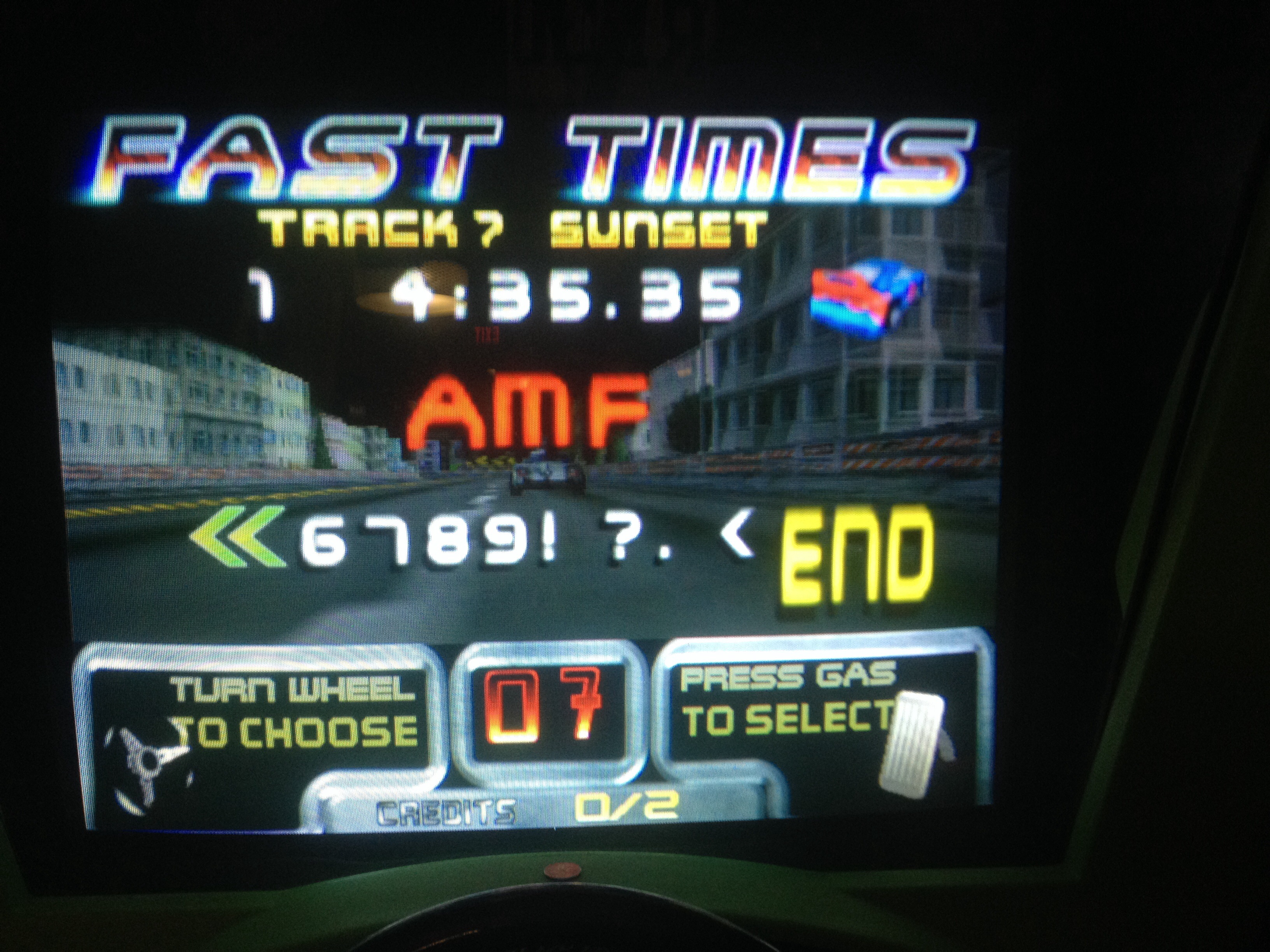 FosterAMF: San Francisco Rush: The Rock [Track 7] (Arcade) 0:04:35.35 points on 2014-09-26 14:30:50