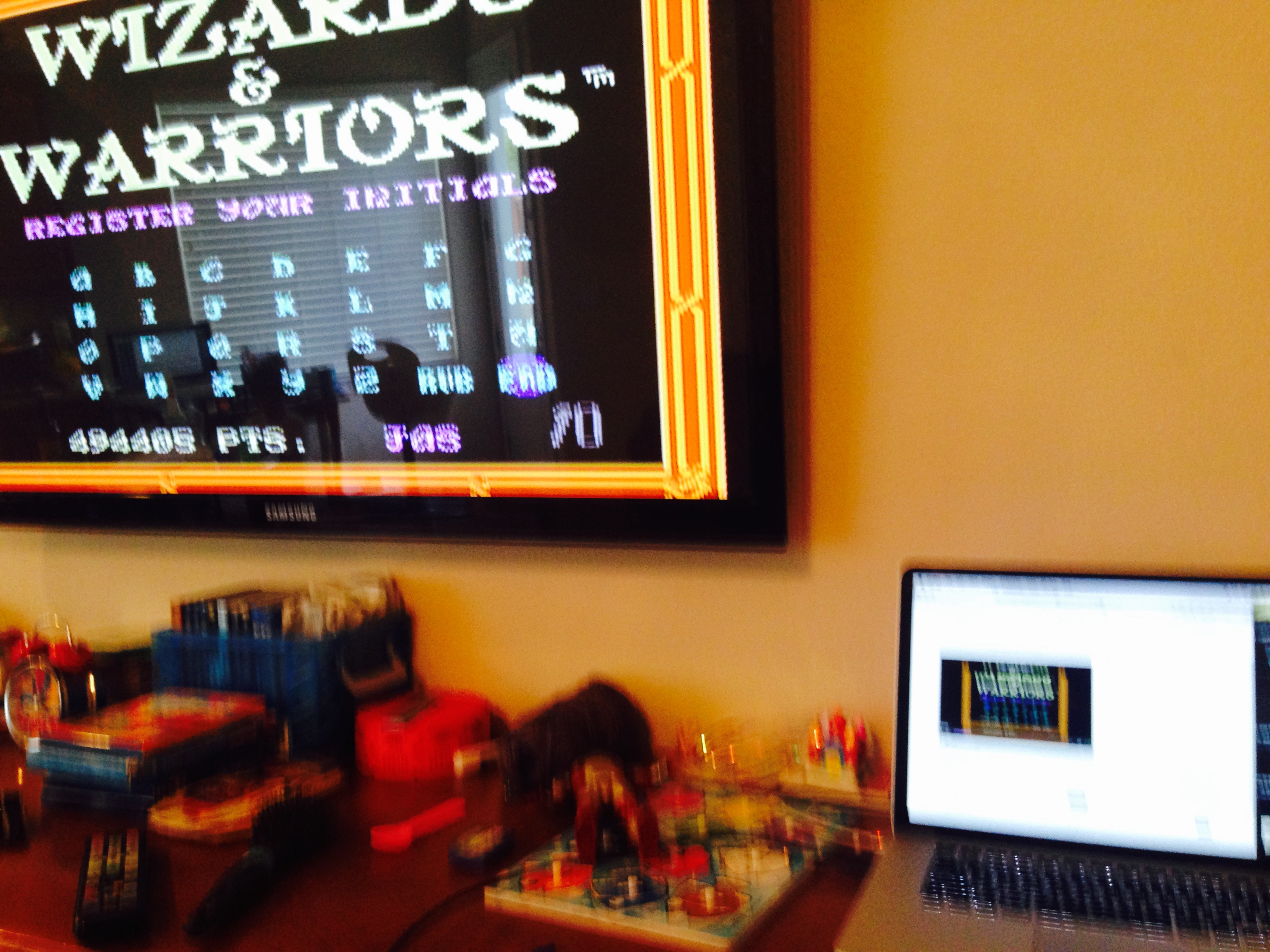 Wizards & Warriors 494,405 points