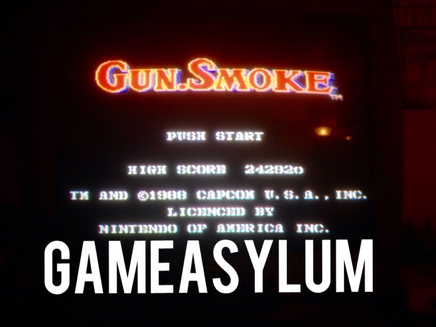 GameAsylum: Gunsmoke (NES/Famicom) 242,820 points on 2014-09-27 00:02:31