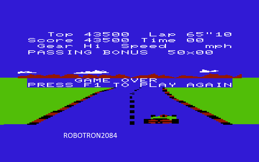 Robotron2084: Pole Position (Commodore VIC-20 Emulated) 43,500 points on 2014-09-28 01:20:39