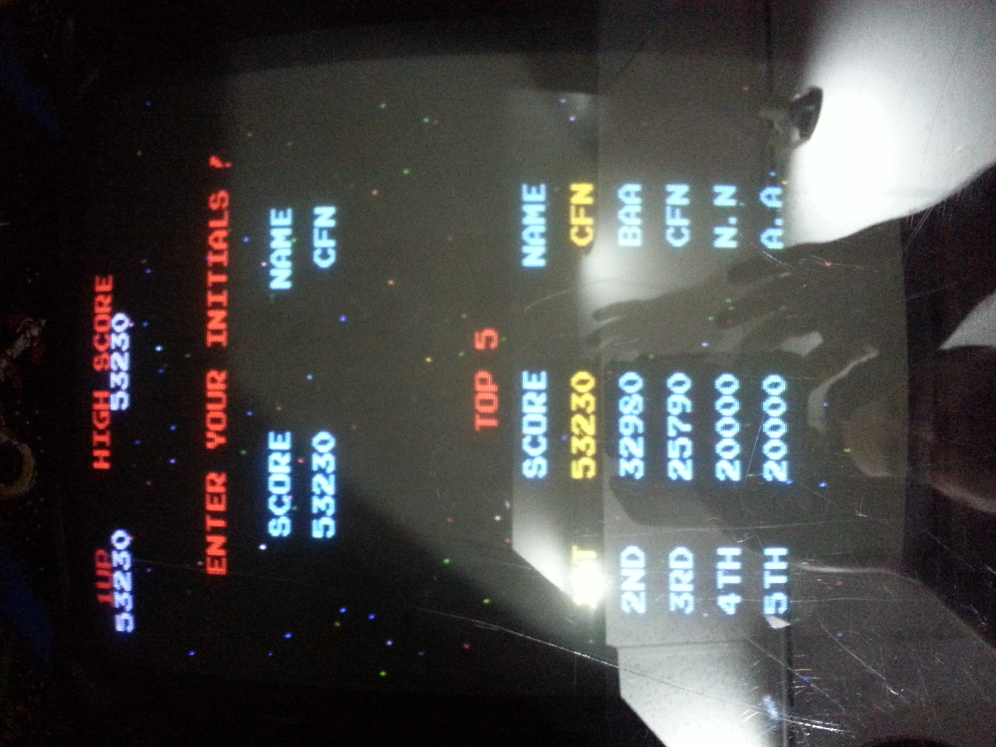 ceafin: Galaga (Arcade) 53,230 points on 2014-09-28 13:38:04