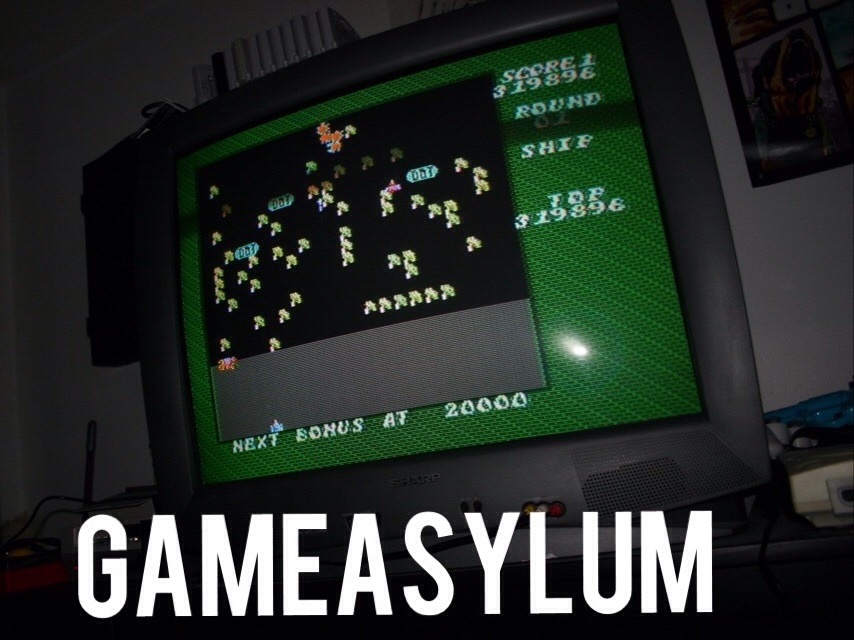 GameAsylum: Millipede (NES/Famicom) 319,896 points on 2014-09-29 01:15:53