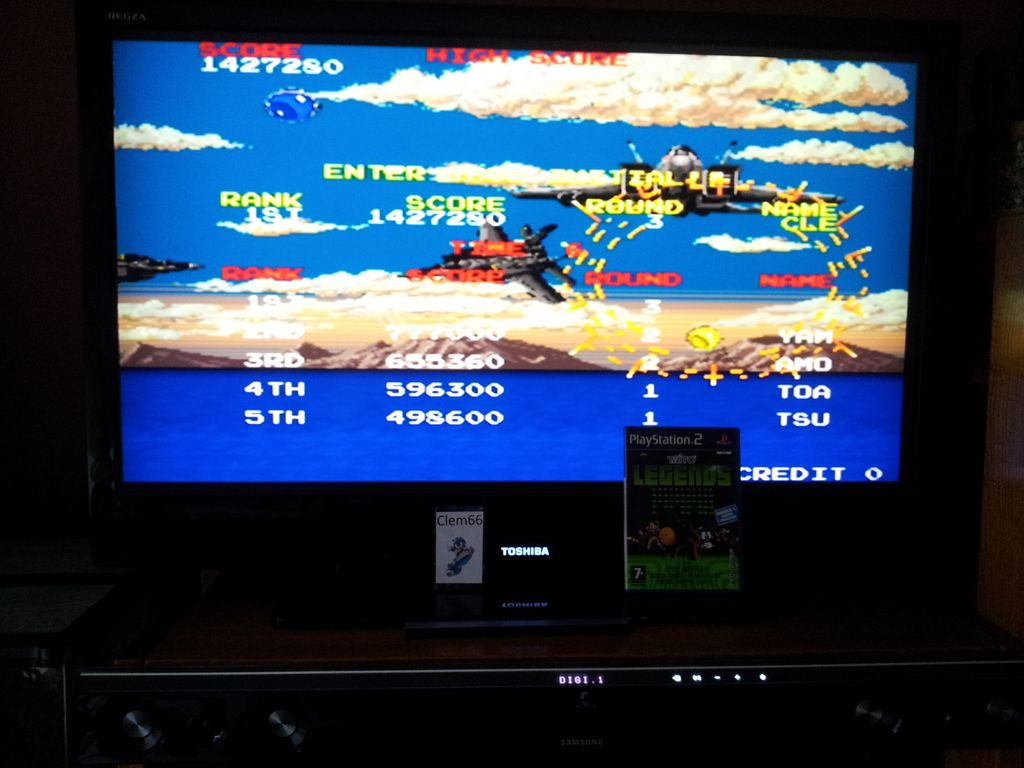 Clem66: Taito Legends: Battle Shark (Playstation 2) 1,427,280 points on 2014-09-30 13:41:48