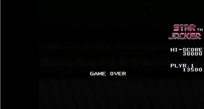 Sega Ages Memorial Selection Vol.2: Star Jacker 13,500 points