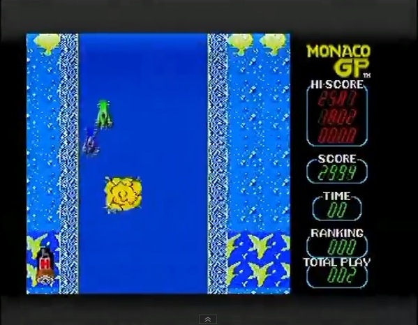 Sega Ages Memorial Selection Vol.2: Monaco GP 2,994 points