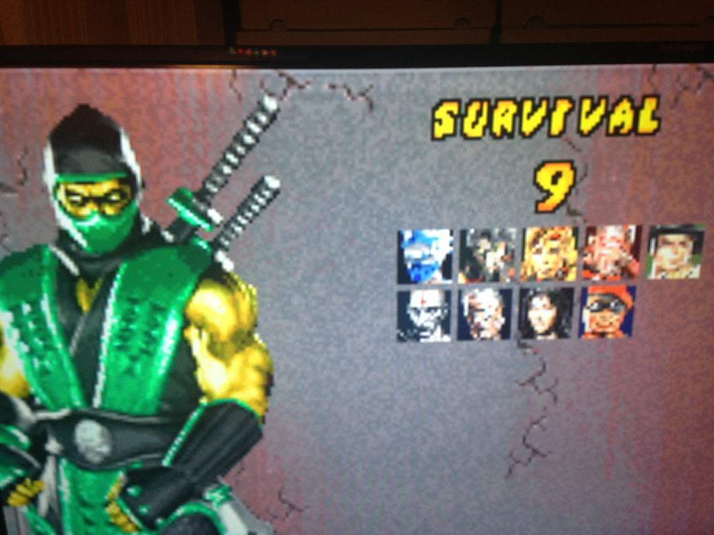Congslop: Mortal Kombat Deadly Alliance: Survival (GBA Emulated) 9 points on 2014-10-02 20:24:21