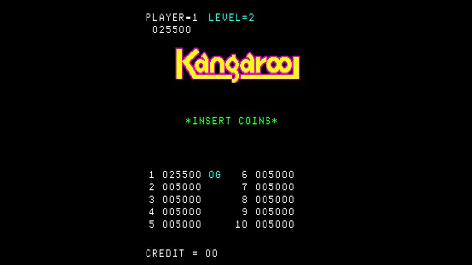Kangaroo 25,500 points