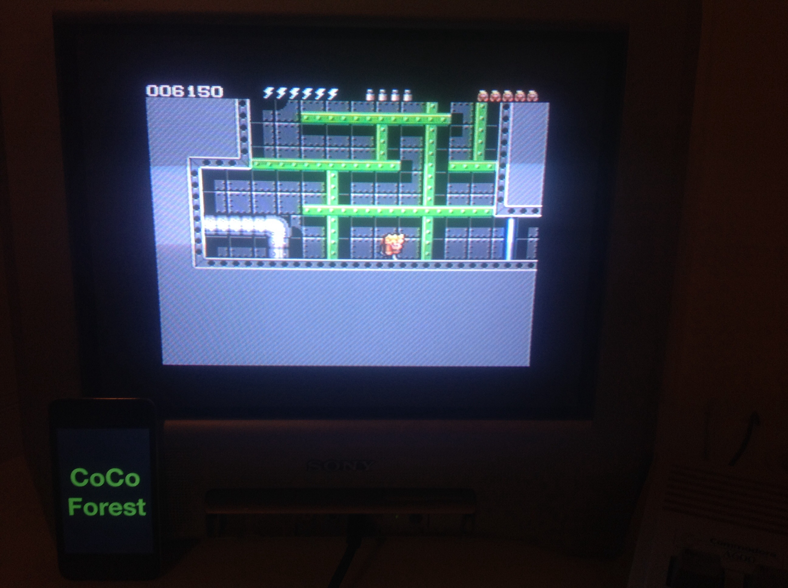 CoCoForest: Rick Dangerous II (Amiga) 6,150 points on 2014-10-03 13:31:40