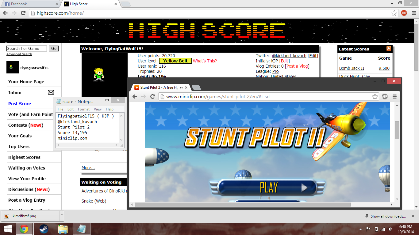 Stunt Pilot 2 13,195 points