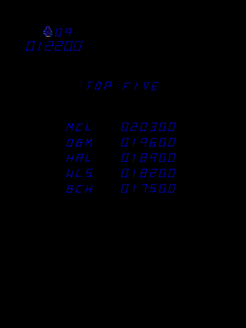 BarryBloso: Tac Scan (Arcade Emulated / M.A.M.E.) 12,200 points on 2014-10-03 20:59:21