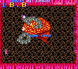 BarryBloso: Life Force (Arcade Emulated / M.A.M.E.) 135,800 points on 2014-10-04 07:39:00