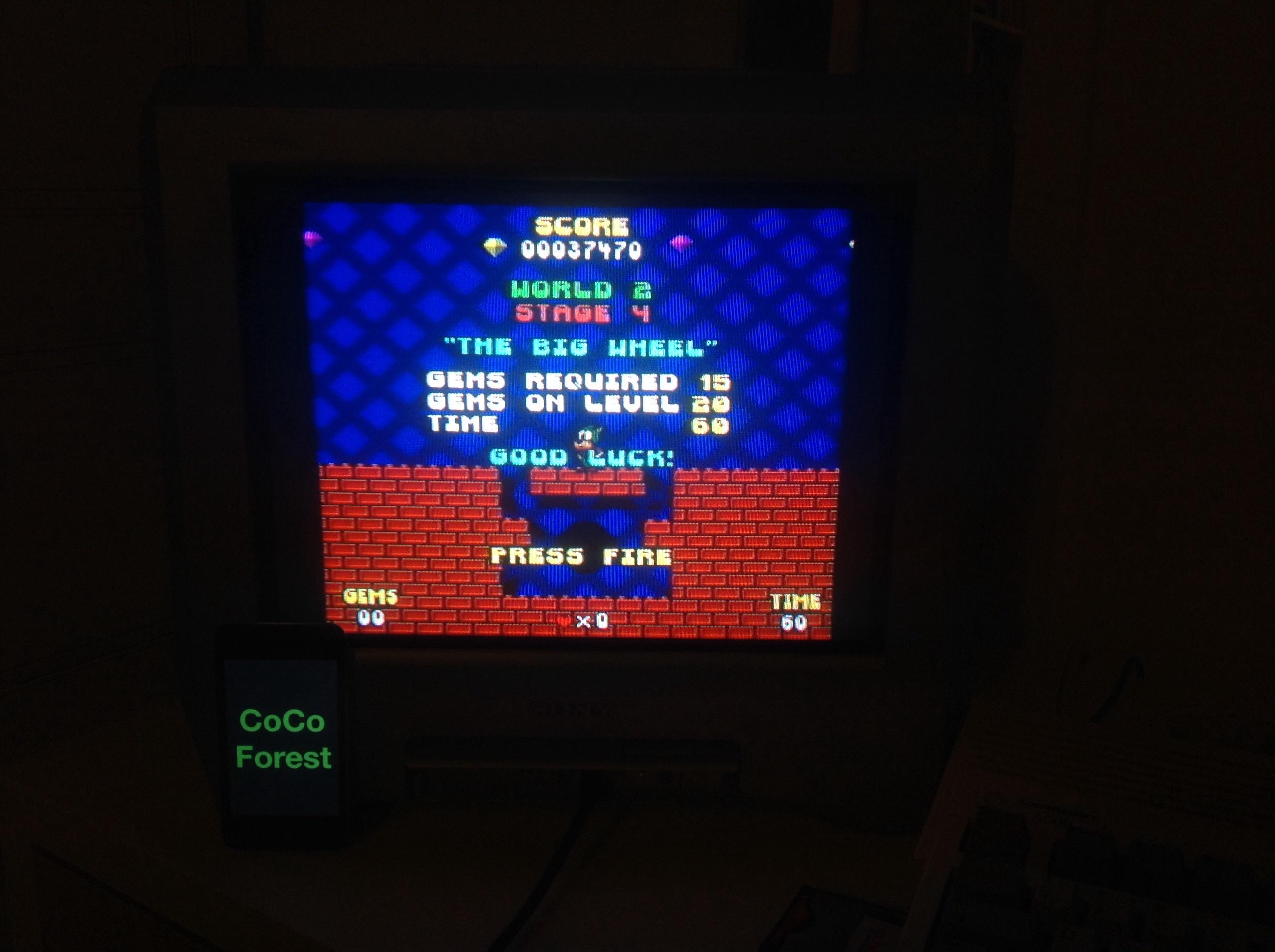 CoCoForest: Tearaway Thomas (Amiga) 37,470 points on 2014-10-05 15:06:15