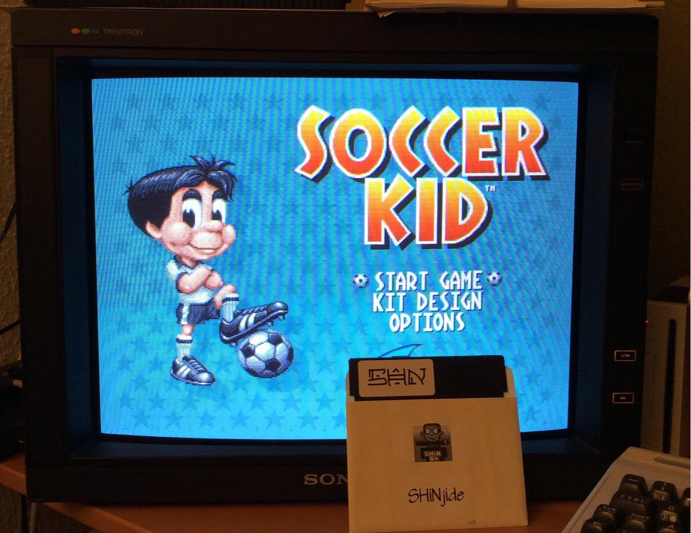 SHiNjide: Soccer Kid (Amiga) 58,450 points on 2014-10-06 01:03:14