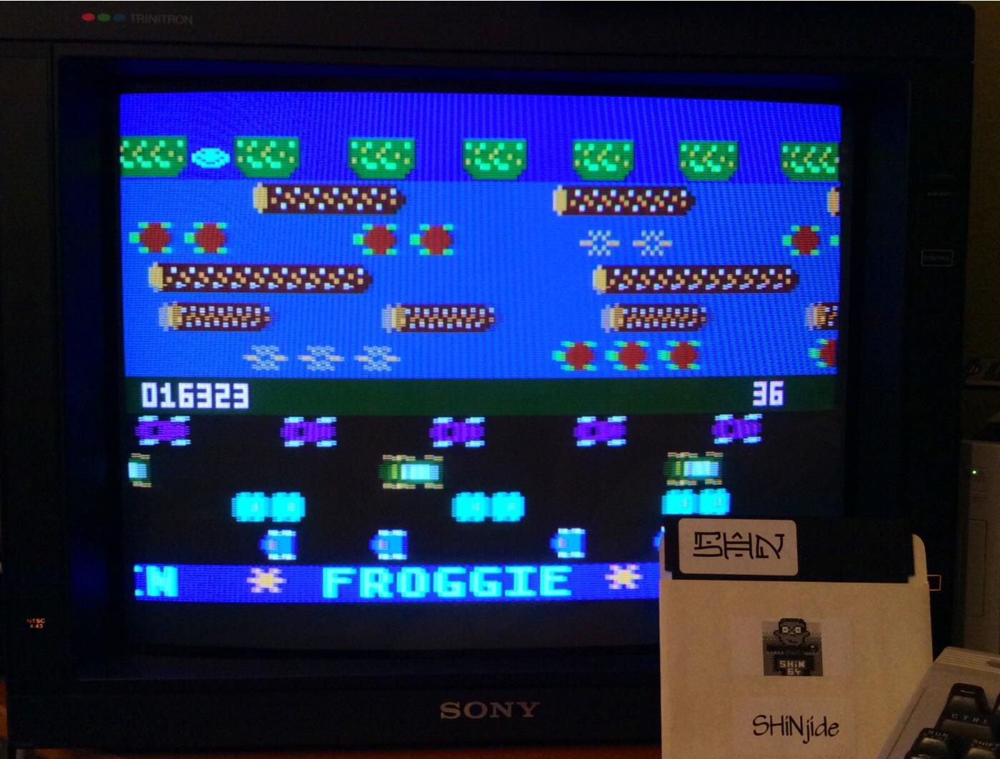 Froggie 16,323 points