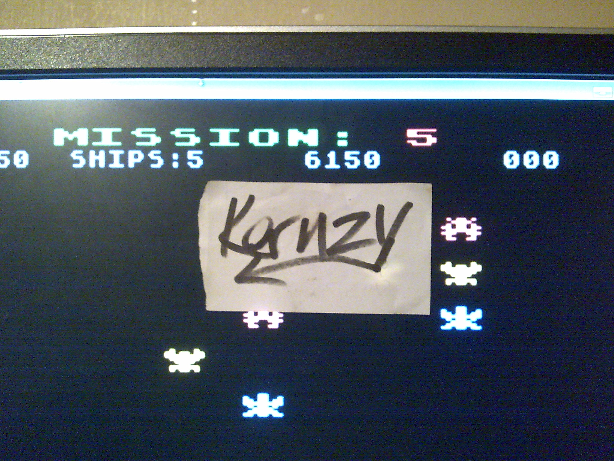 kernzy: Gorf (Atari 5200 Emulated) 6,150 points on 2014-10-06 19:14:43