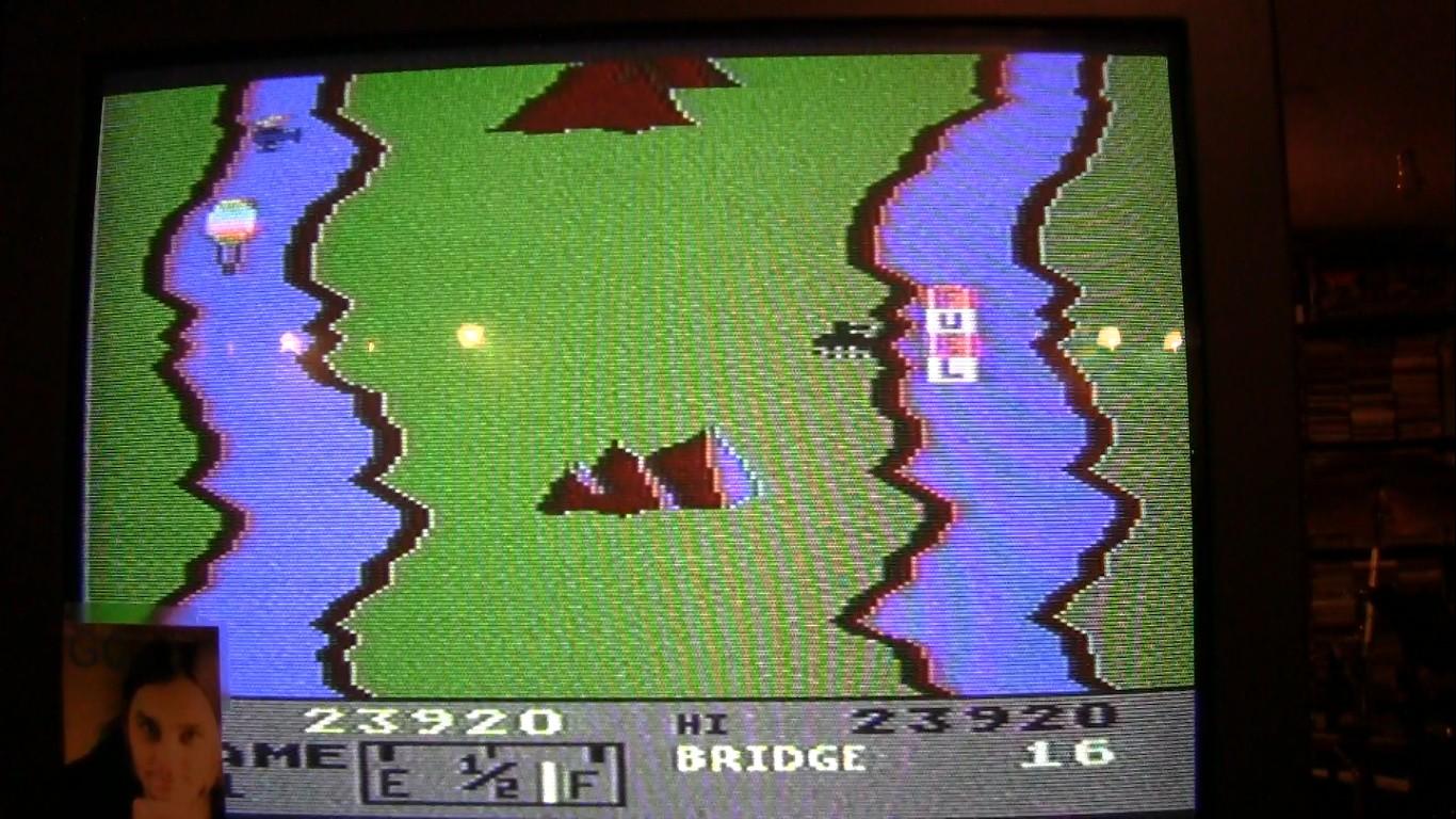 River Raid: Game 1 23,920 points