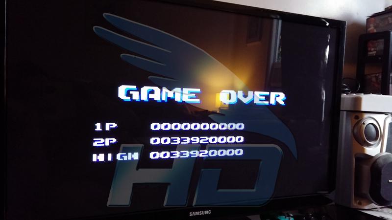 Aero Blaster 33,920,000 points