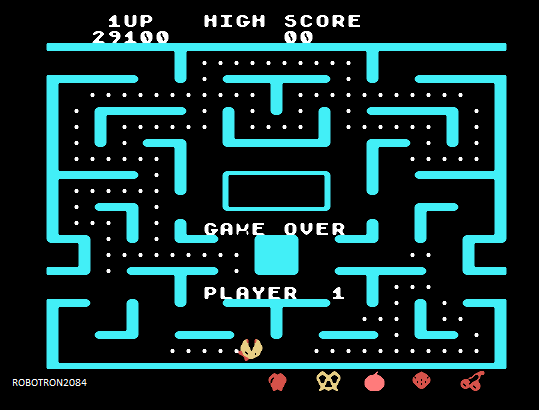 Ms. Pac-Man 29,100 points