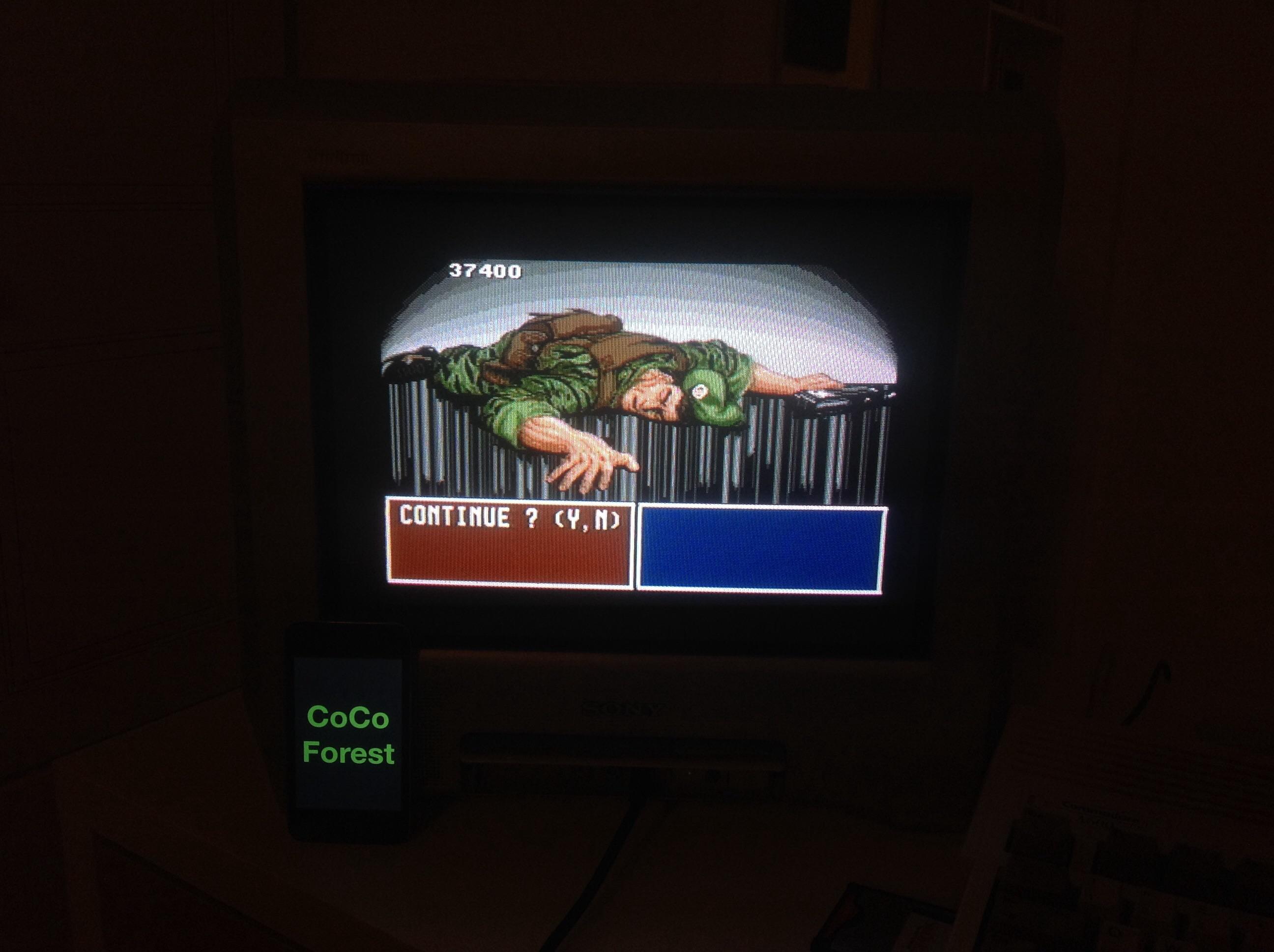 CoCoForest: Operation Thunderbolt (Amiga) 37,400 points on 2014-10-07 13:55:58