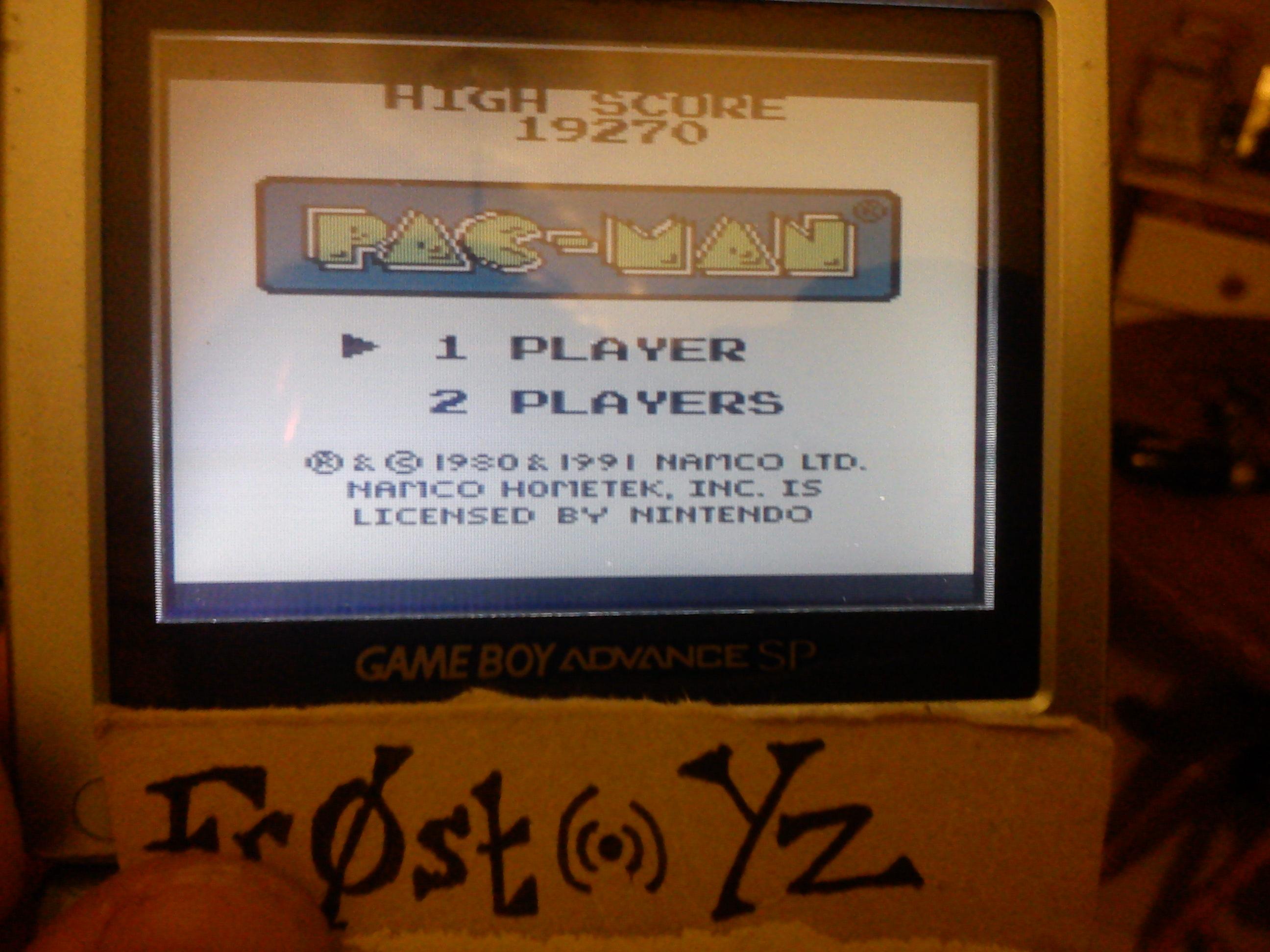 Pac-Man 19,270 points