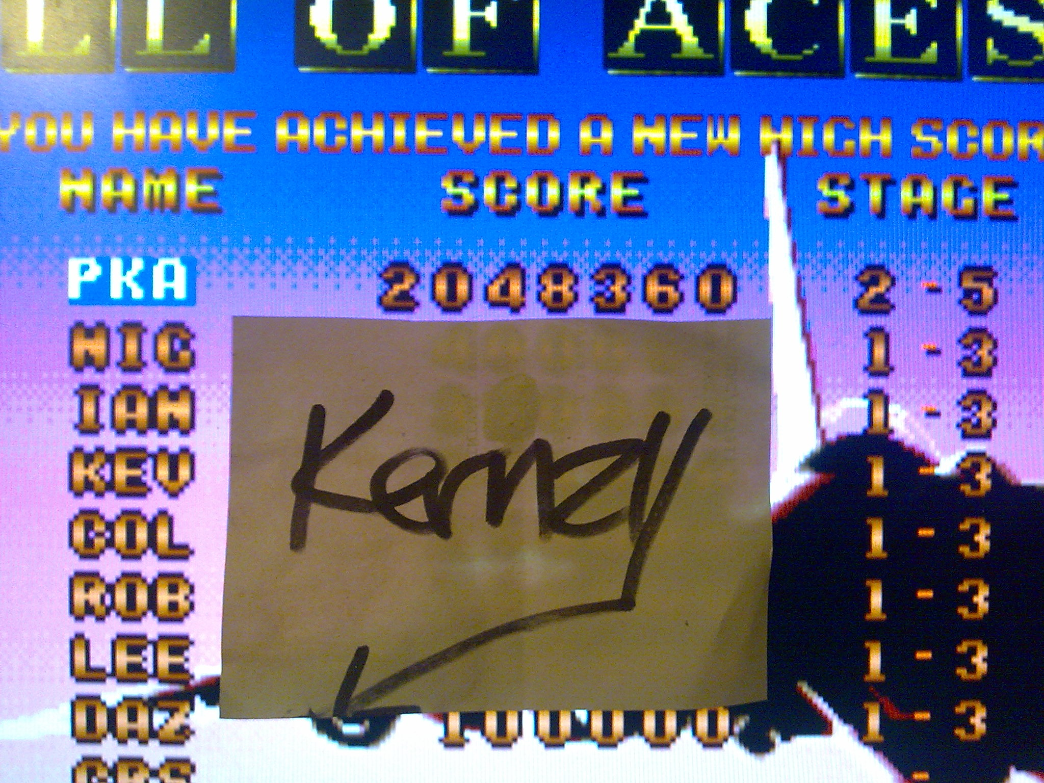 kernzy: Raiden: Eight Credits (Atari Jaguar Emulated) 2,048,360 points on 2014-10-08 11:30:54