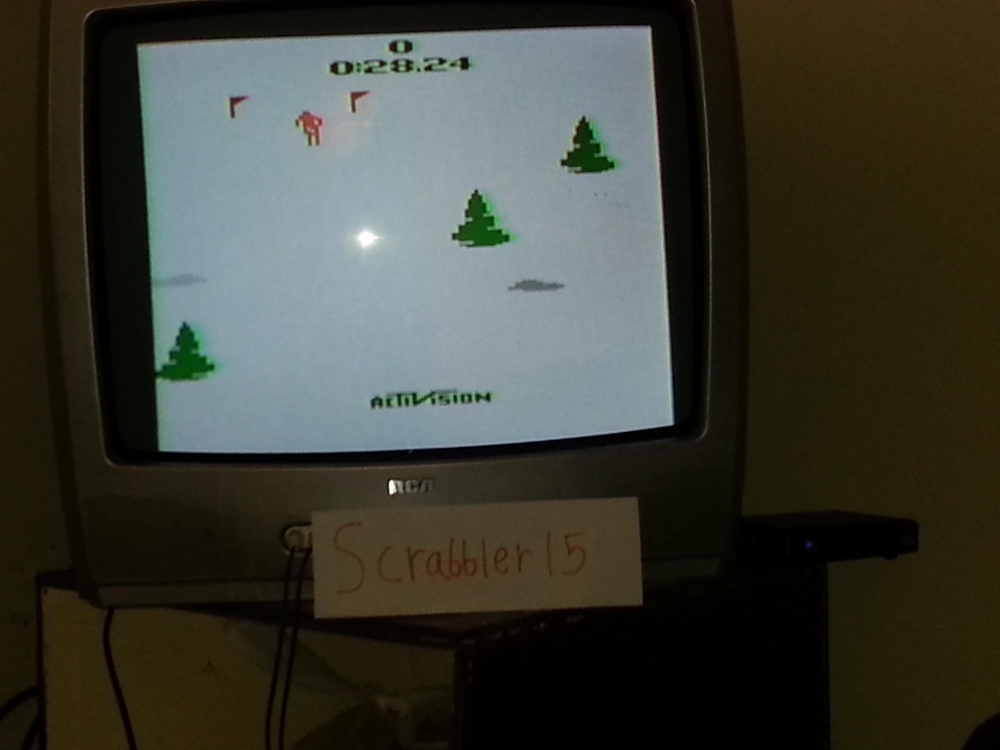 Scrabbler15: Skiing: Game 3 (Atari 2600 Novice/B) 0:00:28.24 points on 2014-10-08 15:58:21