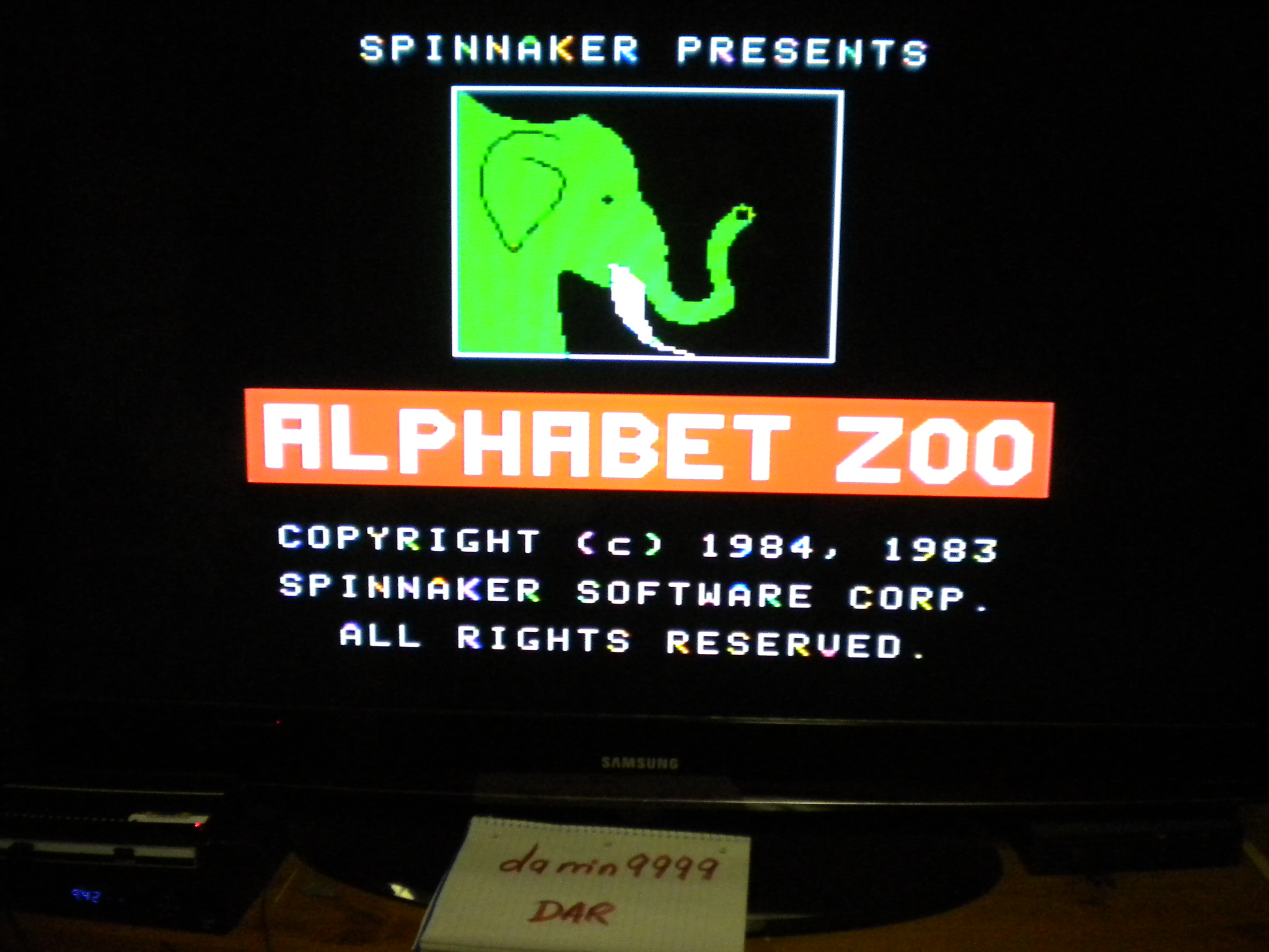 Alphabet Zoo 530 points