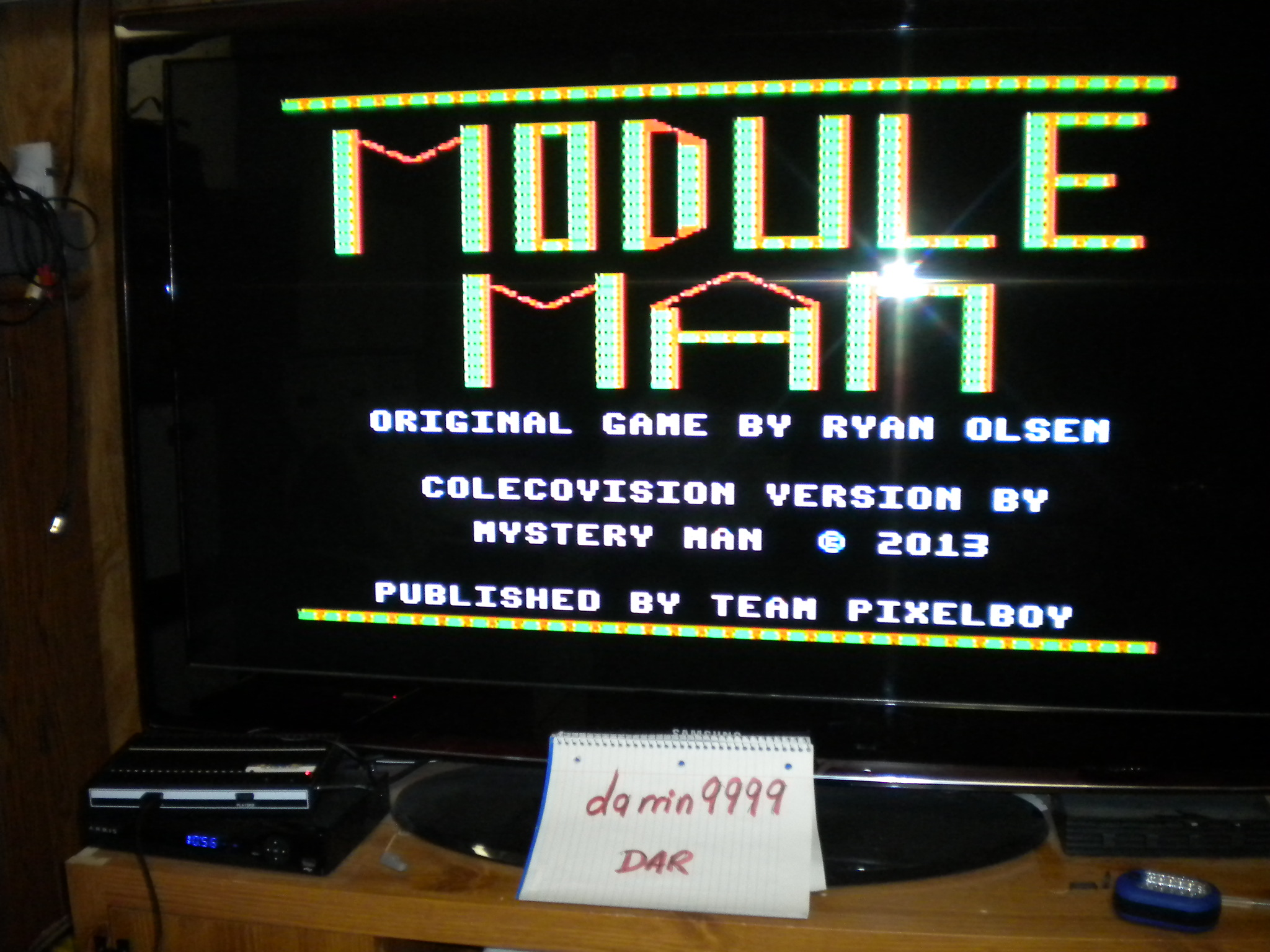 Module Man 2,700 points