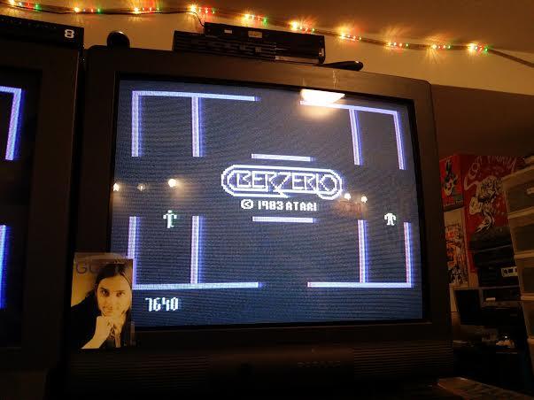 Berzerk: Game 1 7,640 points
