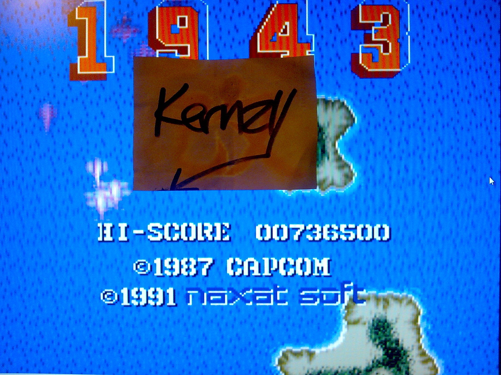 kernzy: 1943 Kai [Easy] (TurboGrafx-16/PC Engine Emulated) 736,500 points on 2014-10-09 12:07:38