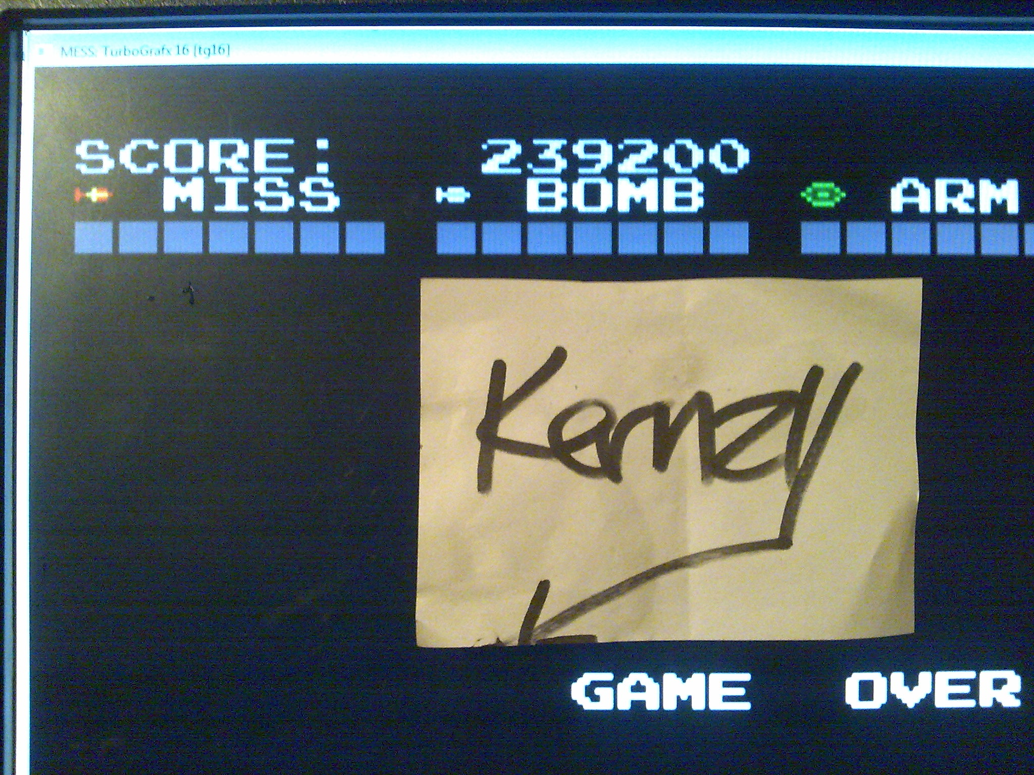 kernzy: Darius Alpha (TurboGrafx-16/PC Engine Emulated) 239,200 points on 2014-10-09 14:10:30