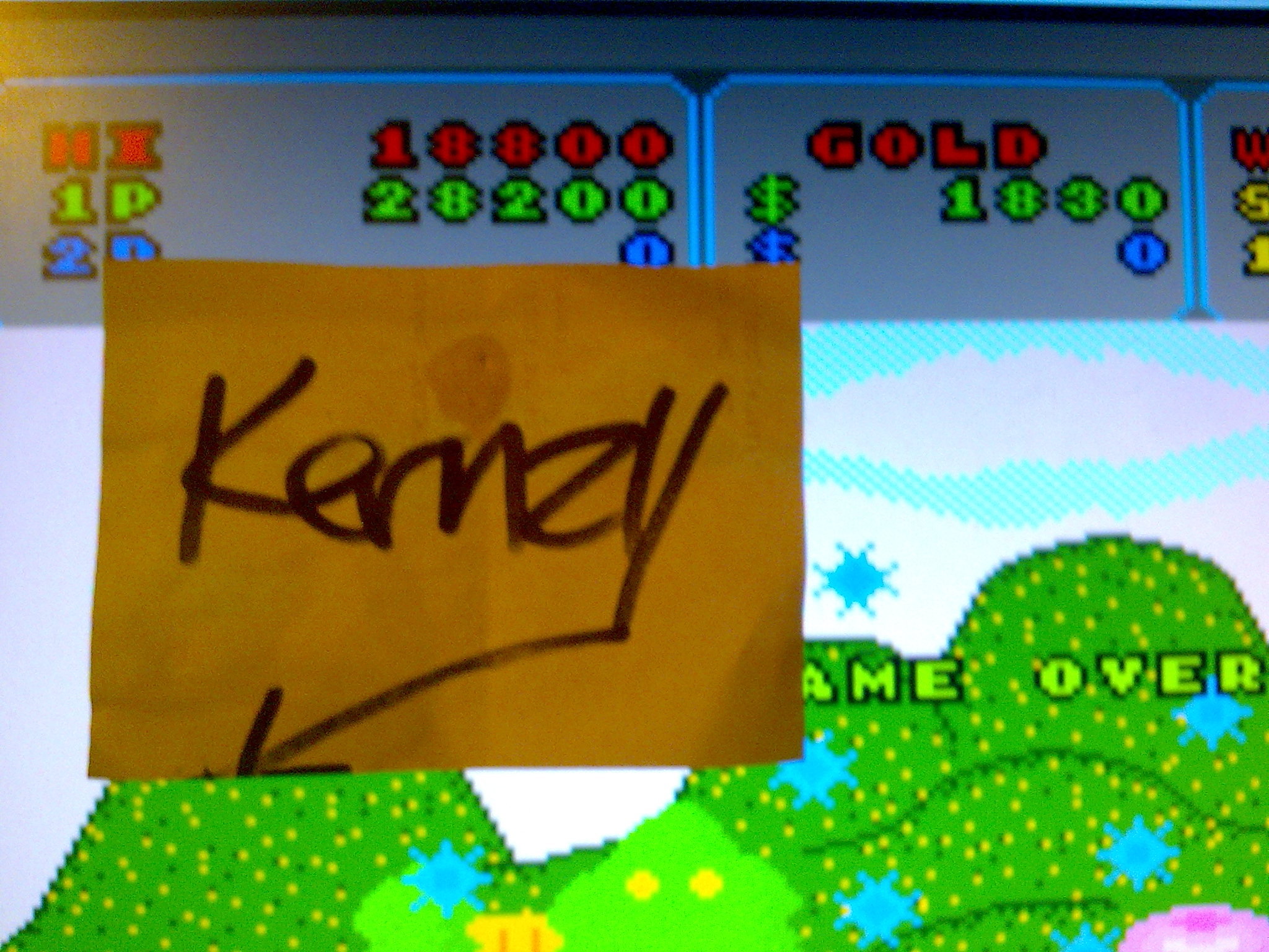 kernzy: Fantasy Zone (TurboGrafx-16/PC Engine Emulated) 28,200 points on 2014-10-09 14:16:04